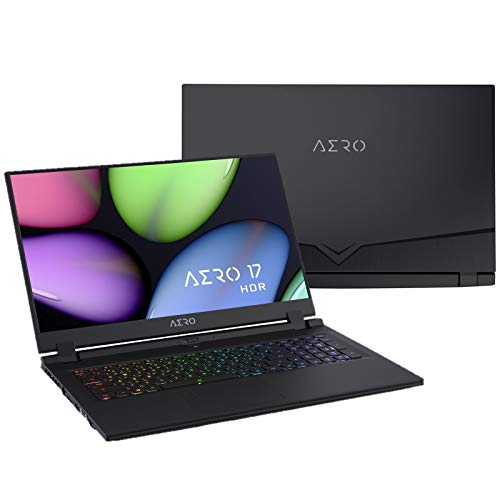 Compare Gigabyte AERO 17 HDR YA-7US4450SQ (AERO 17 HDR YA-7US4450SQ) vs other laptops