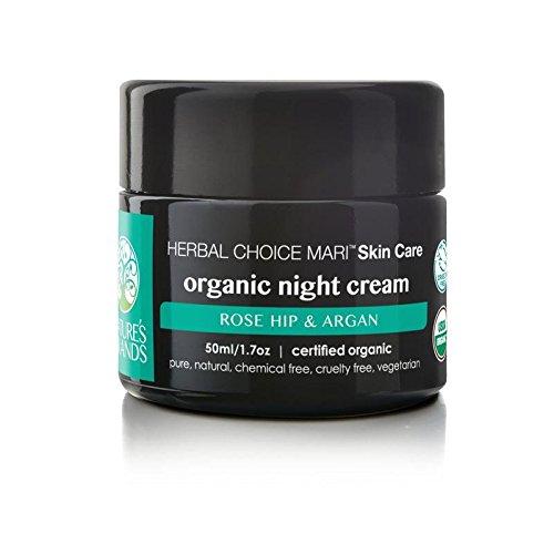 Herbal Choice Mari Organic Night Cream; 1.7floz