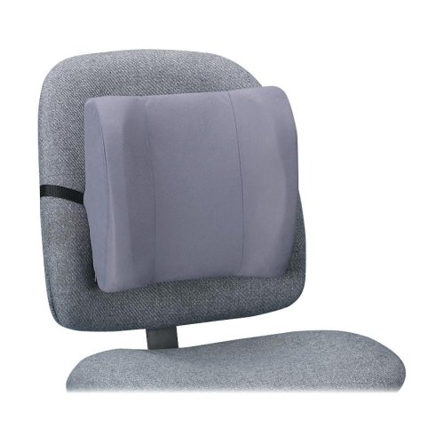 Wholesale CASE of 10 - Fellowes High-Profile Backrests-Backrest, High Profile, 13''x4''x12'', Graphite by FEL