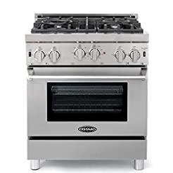 Cosmo GRP304 Gas Range with 4 Sealed Bur...