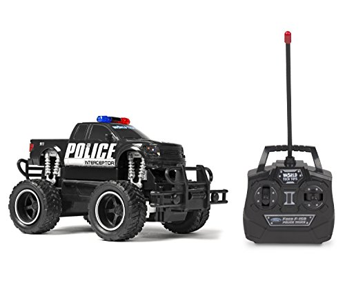 World Tech Toys Ford F-150 Police 1:24 RTR Electric RC Monster Truck,, 7 x 4.5 x 4.5
