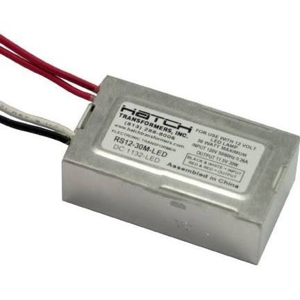 Hatch Led Drivers >> 30 Watt Max Led Driver Dimmable 120 Input Voltage 12 Output