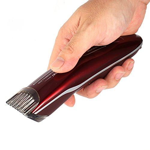 Électrique Tondeuse à Cheveux Professionnel Coiffure de Cheveux Barbe pour les Enfants et Adultes (Bleu foncé)