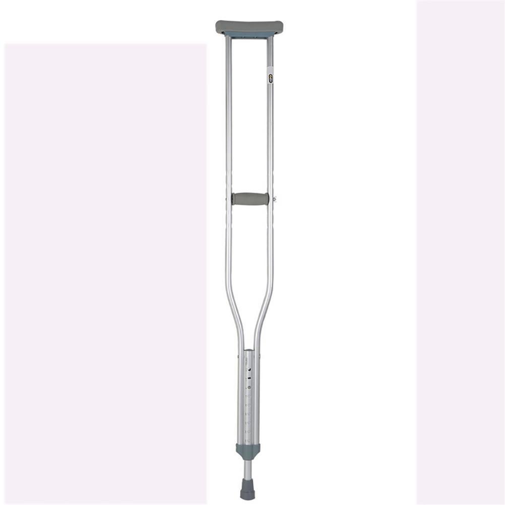 RUIRUI Grandes béquilles blindées en Alliage d'aluminium pour Personnes handicapées RUIRUI STICK