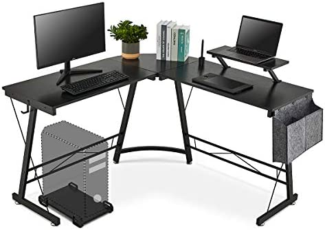 LIFEFAIR L-Shaped Desk