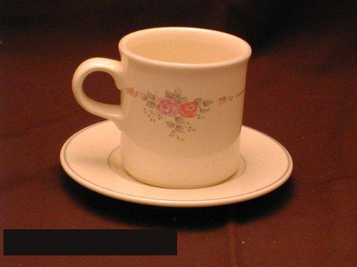 Pfaltzgraff Trousseau Cups & Saucers