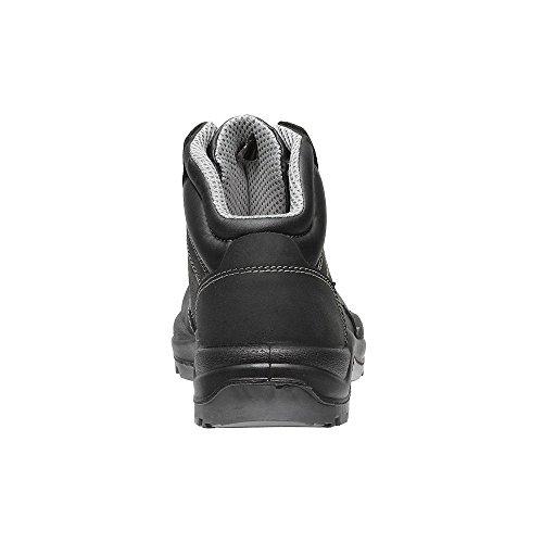 parade - Calzado de protección de piel de cerdo para hombre negro - negro