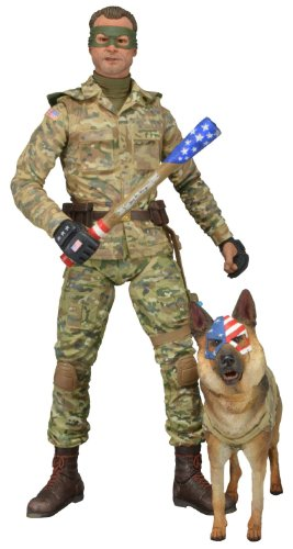 """NECA Series 2 Kick Ass 2 Colonel Stars and Stripes 7"""" Scale Action Figure"""