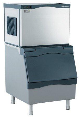 Scotsman C0330MA-B330P 350 lb 30'' Air-Cooled Medium Cube Ice Machine w/ Storage Bin by Scotsman