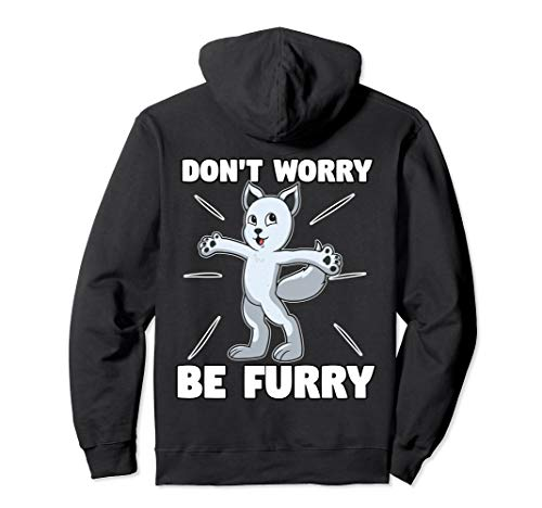 Arctic Fox Furry Fursona Hoodie For Furries Ears Tails Gifts -