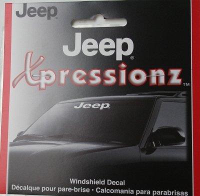 Jeep Windshield Decals - 3