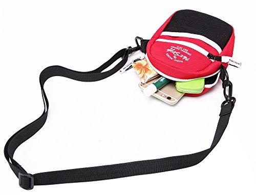Contenir Hotstyle S025f pour Plus un Rouge Petite iPhone à Bandoulière Téléphone 525s pochette Sacoche Peut zaTAwqzU