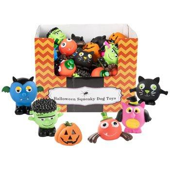 Regent Halloween Dog Squeaky Toy Squeak (Set of -