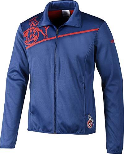 Rosso marine Blu Uhlsport fc Colonia Giacca 1 Zip Full Tortora Unisex Blau 044Pazwqnx