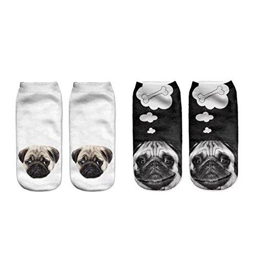 3D-Pug-Dog-Print-Socks-2-Pairs