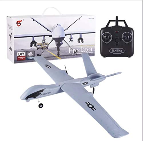 (SOWOFA Large Remote Control Aircraft Global Hawk unmanned Remote Surveillance Reconnaissance Aircraft Remote Control Glider Pterosaur Fixed-Wing Drone)