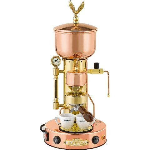 Microcasa Semiautomatica Commercial Espresso Machine Finish: Copper and Brass (Espresso Commercial Machine)