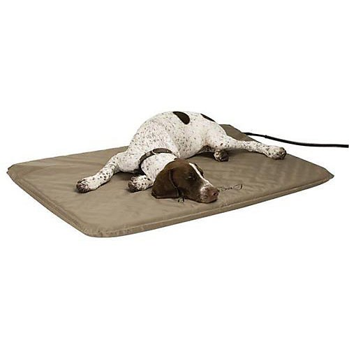 K&H Lectro-Soft? Outdoor Heated Pet Bed with Cover - Small, 14 inch x 18 inch, 20 Watt