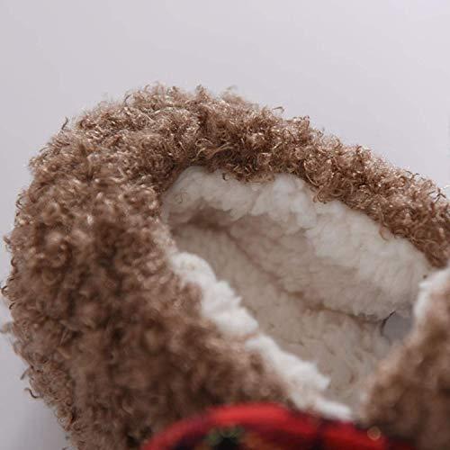 Usura Inverno Punta Cartoni Animati Carino Ragazze Le Pantofole Cervi Lana Scarpe Ideale Camera Dei Disegno Calda Letto Casa In Chiuse Per Della Da Donna 4xp4wqfC