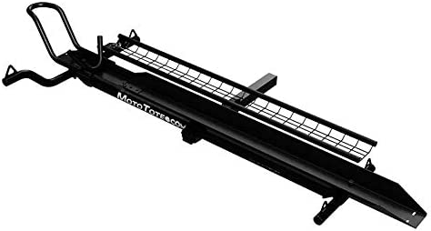MotoTote m3 - Premium Hitch-Mount Motorcycle Carrier with Ramp