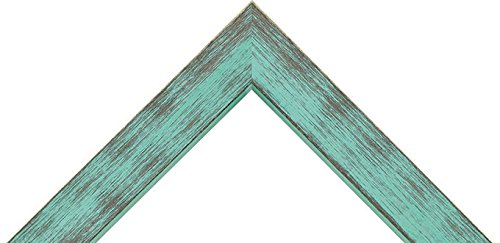 Turquoise Poplar Picture frame different sizes great for 3//4 canvas, 16x20