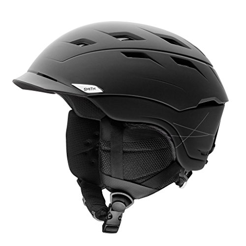 Smith Optics Variance Adult Mips Ski Snowmobile Helmet - Matte Black / Medium by Smith Optics