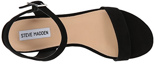 cheap sale hot sale Steve Madden Women's Cashmere Flat Sandal Black Suede fashion Style cheap online 2014 cheap price i1pBg6