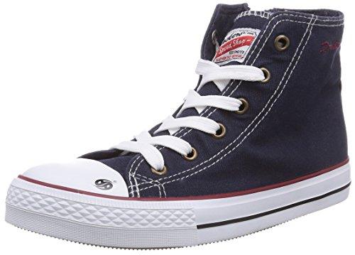 Dockers by Gerli 36AY604-790660 Unisex-Kinder Hohe Sneakers Blau (navy 660)