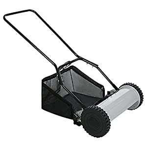 Walk-Behind Push Reel Lawn Mower With T-Style Handle And Heat Treated Blades (12)