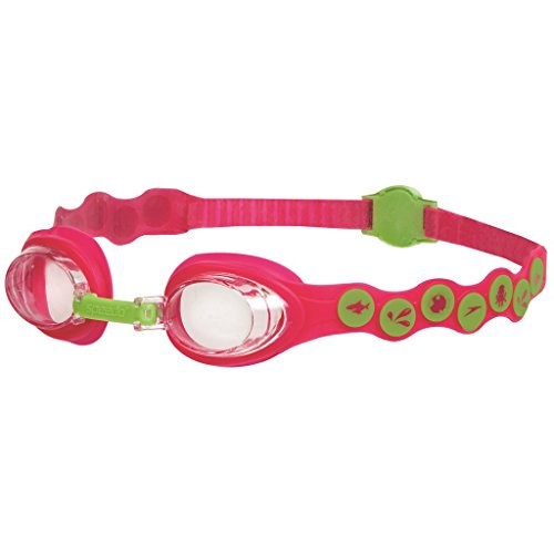 Speedo Kinder Schwimmbrille Sea Squad Goggles, Passion Pink/Hydro Green, One Size, 8-083828028