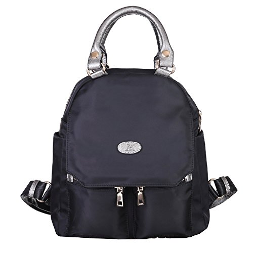 Girl Handbag, Backpack Purse, Trendy College Girl, Waterproof Backpack Fashionable new design in Adorable Colors .Great to hold your iPad, Wallet, Makeup Kit, Clothes, Books, (Halloween Touch And Feel Items)