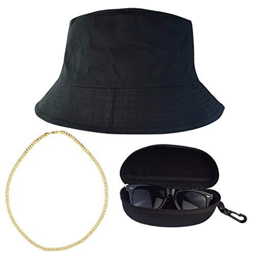 Miayon 3Pcs Hip Hop Costume Kits 80s 90s Cool Style Hip Hop Outfits