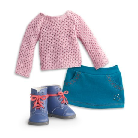 - American Girl Truly Me Sparkle Sweater Outfit for 18