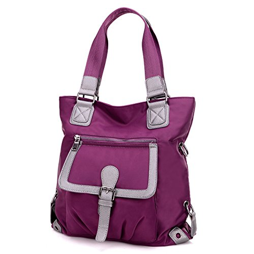 Oxford Raincoat Bag Purple Purple Ladies Linge Shoulder qCSw7