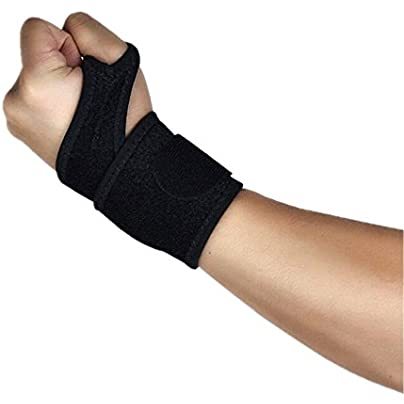 MTTito Bracers Protect the wrists Comfortable and breathable Sweat-absorbent soft Basketball volleyball wristbands Pressure band fitness bandages Non-slip Wearable Healthy exercise Estimated Price £21.06 -