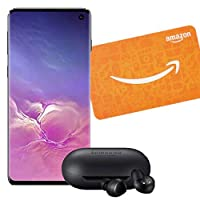Deals on Samsung Galaxy S10 128GB Smartphone w/Galaxy Buds and $50 Amazon GC