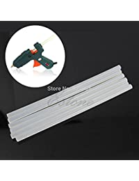 Buy 1 Set EU Plug 20W Electric Heating Hot Melt Glue Gun Sticks Trigger Art Repair Tool +6Pcs 7mm Hot Melt Glue Sticks online