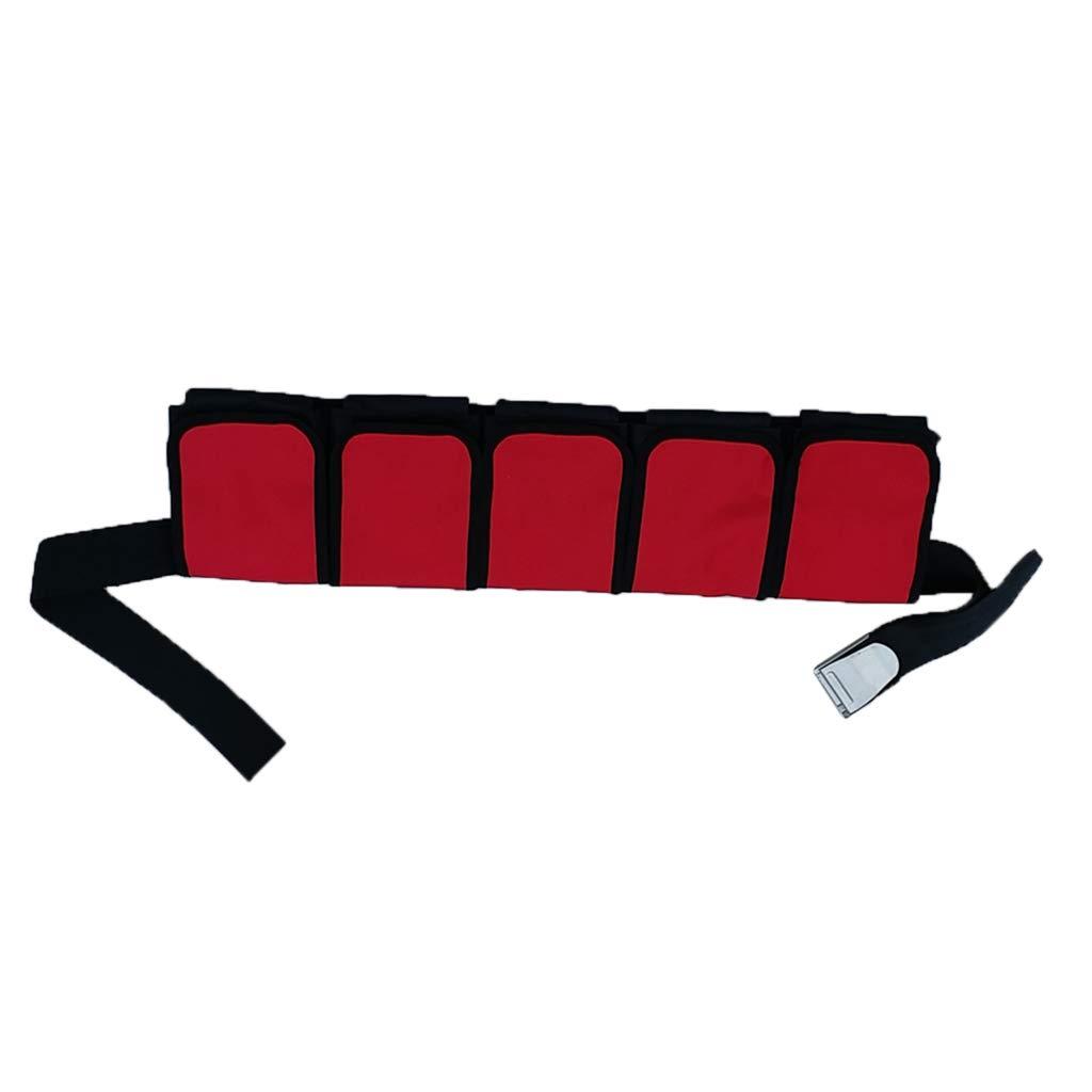 NON Homyl Cintur/ón de Buceo Impermeable Cintura de Snorkel Bolsa con 3//4//5 Bolsillos