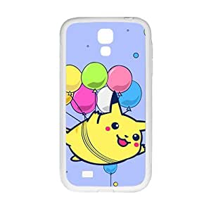 Lovely Pokemon happy Pikachu Cell Phone Case for Samsung Galaxy S4