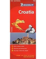 Michelin Croatia Map 757
