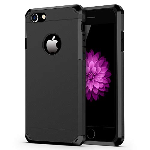 - iPhone 7/8 Case, ImpactStrong Heavy Duty Dual Layer Protection Cover Heavy Duty Case for Apple iPhone 7/8 (Gun Black)