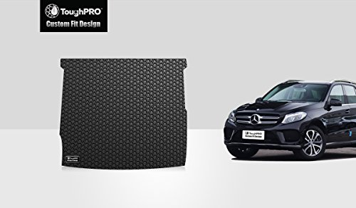 ToughPRO Cargo/Trunk Mat Compatible with Mercedes-Benz GLE - All Weather - Heavy Duty - (Made in USA) - Black Rubber - 2016, 2017, 2018, 2019