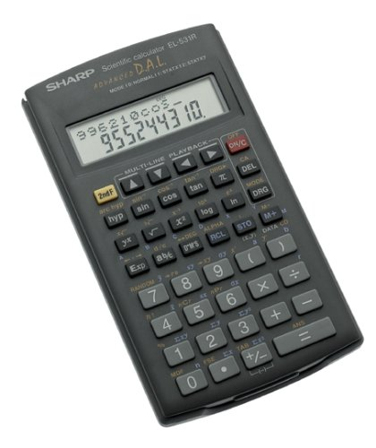 Sharp EL-531RB 10-Digit Scientific Calculator