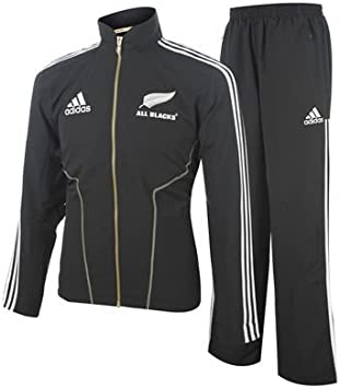 Adidas All Blacks Chándal Zelanda New Zealand Rugby (Talla L, D8 ...