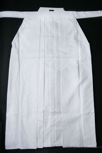 High Quality White Tetron Hakama, 20 by e-bogu