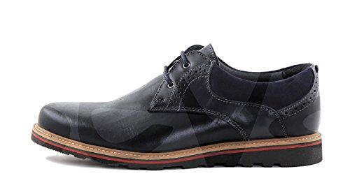 Innovation - A28 - Zapato Caballero Piel - 39, Azul