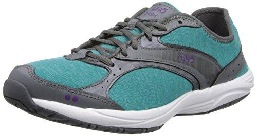 Grey Walking Stretch Ryka Shoe Steel Women's Purple Blast Deep Iron Dash Grey Harbor w4CqvCt