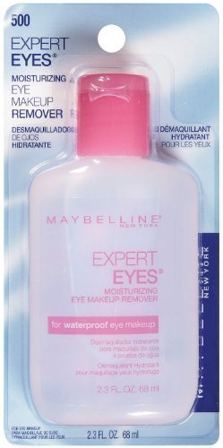 Maybelline Expert Eyes Mascara Remover, Moisturizing , 2.3 fl oz (68 ml) by Maybelline
