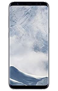 Samsung Galaxy S8+ Plus 64GB SM-G955F Single-SIM Factory Unlocked 4G Smartphone (Arctic Silver) International Version
