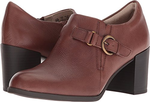 Naturalizer Women's Hanna Brown Pebbled Leather 6 M US M (B)